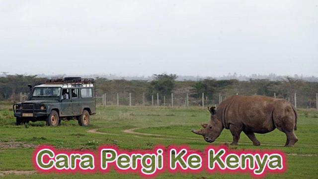 Cara Pergi Ke Kenya